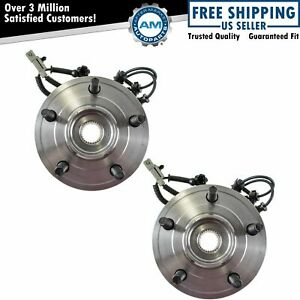 Front Wheel Hubs Bearings Pair Set Of 2 For Jeep Grand Cherokee Commander