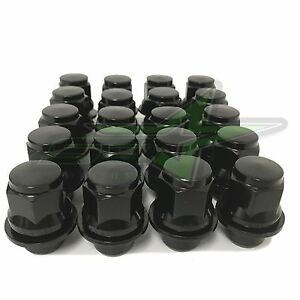24 Oem Factory Mag Lug Nuts Black 12x1 5 Fits Toyota 4runner Tacoma 6x5 5 Wheels