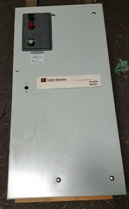 Cutler Hammer Athsfda30100bsu 100amp Automatic Transfer Switch 60h 3ph 208v