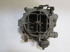 Carter Wcfb Carburetor Core