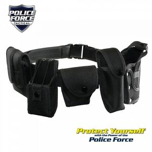 Police Force Tactical Duty Belt Medium Xlarge Xxlarge