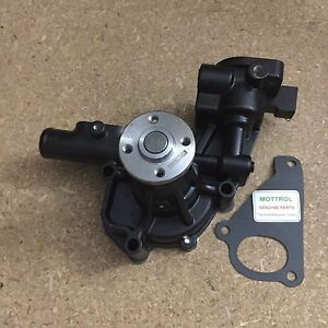 129004 42001 Water Pump With Pipe Fit For Komatsu Excavator Pc45r 8 Pc58uu 4d84