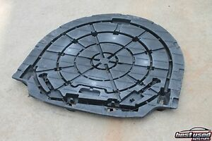 2004 Mazda 6 Auto Hatchback Spare Extra Wheel Tire Cover Panel Plastic 04