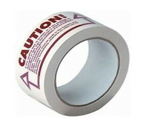 3240 Rolls Caution Printed Tape 2 X 110 Yards 2 Mil