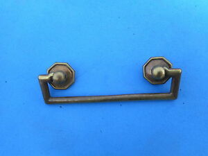 French Solid Brass Drawer Pull Vintage Antique K4815 Karges C To C 2 1 2 Nice