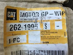 2621995 Cat Window Wiper Motor Lh Door Caterpillar 262 1995 Fits D3g D4g D5g