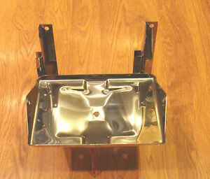 1955 56 57 Chevy Gmc Truck Battery Tray Box Polished Stainless Steel Usa Made