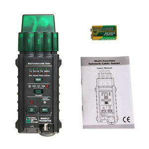 Mastech Ms6813 Network Cable Telephone Line Tester Detector Tracker Tracer V5e9