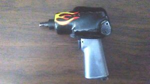 Blue Point At321 3 8 Drive Air Impact Wrench Gun With Protective Boot