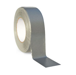 2 X 60 Yds Silver Duct Tape Economy Grade 9 Mil In 240 Rolls