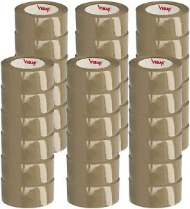 Tan Packing Tape 1 6 Mil Hotmelt 3240 Rolls Of Tape 2 X110 Yards