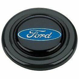 Grant Products Horn Button Plastic Black Ford Oval Emblem For Signature Series
