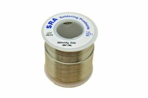 Lead Free Solid Core Silver Solder 96 4 062 inch 1 pound Spool