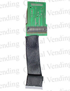 National Vendors Vending Machine 147 148 474 Working Display With Ribbon Cable