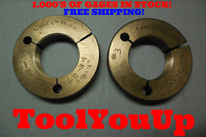 1 9864 14 Ns 3 Thread Ring Gages Go No Go P d s 1 9400 1 9338 Tooling Tool