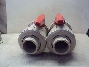 Asahia Av Valve 4 Lot Of 2 New