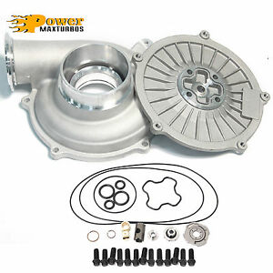 Powerstroke 7 3l Gtp38 Turbo Wheel 66 88 Compressor Cover Back Plate Rebuild Kit