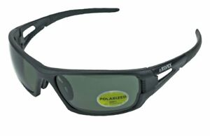 Elvex Rimfire Safety shooting tactical sun Glasses Grey Polarized Lens Z87 1