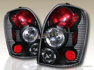 2002 2003 Mazda Protege5 Black Tail Lights Rear Lamps