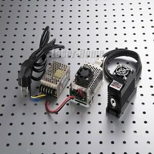 1064nm 100mw Ir Infrared Laser Dot Module cw Mode Tec Cooling Power Supply
