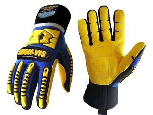 Seibertron High vis Sdxw Cold Weather Condition Safety Working Gloves