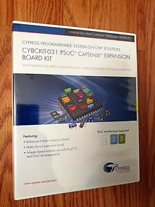 Cypress Cy8ckit 031 Psoc Capsense Expansion Board Kit brand New