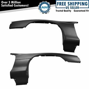 Front Plastic Ptm Paint To Match Fender Kit Pair For 98 02 Chevrolet Camaro New