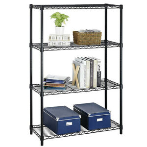 New 36 x14 x54 4 Tier Layer Shelf Adjustable Steel Wire Metal Shelving Rack T54