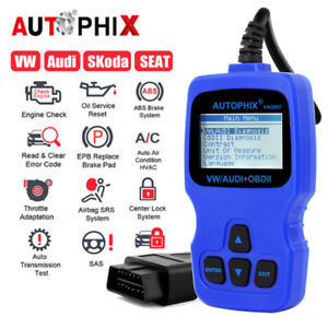 Autophix V007 For Vag Car Obd2 Diagnostic Tool Engine Transmission Oil Epb Reset