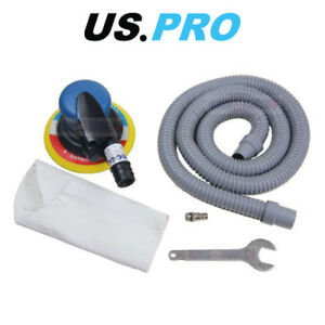 Us Pro Tools 6 150mm Air Dust Free Da Orbital Palm Sander With Dust Extractor
