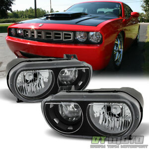 2008 2009 2010 2011 2012 2013 2014 Dodge Challenger Se R t Headlights Left right