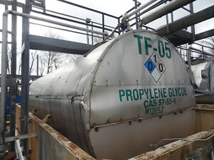 8 000 Gallon 304 Ss Stainless Steel Horizontal Storage Tank Containment