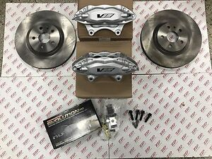 2008 09 Pontiac G8 Brembo Front Caliper Brake Upgrade Standard Rotors