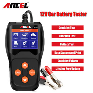 Ancel 12v 24v Circuit Tester Scan Automotive Truck Power Voltage Analyzer Tool