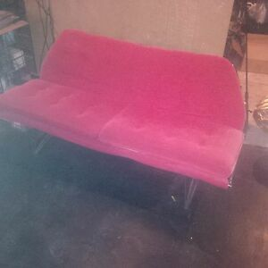 Vintage Homecrest Iron Patio Furniture Mid Century Love Seat