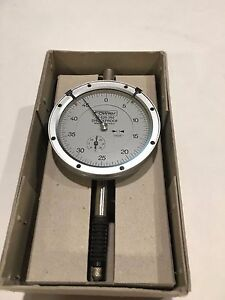 Fowler 52 520 250 X proof Dial Indicator 0 40 Range 0005 Graduation