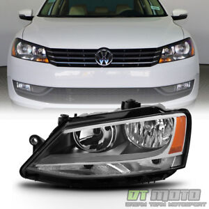 2011 2018 Volkswagen Jetta Halogen Model Headlight Headlamp Left Driver Side