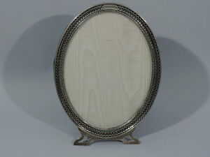 Watson Frame 2993 Picture Photo Oval American Sterling Silver