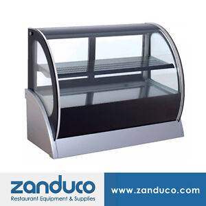 Omcan 7 Cu Ft 59 Commercial Cold Deli Refrigerated Display Case Rs cn 0200 r