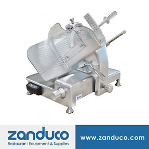 Omcan Aluminum Slicer With 14 350mm Blade And 0 5 Hp Ms cn 0350