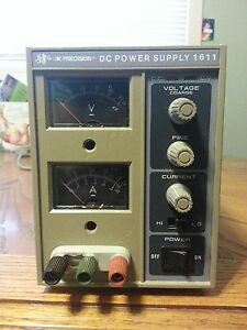 Bk Precision Dc Power Supply Model 1611
