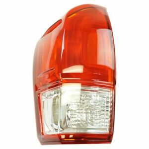 Tail Light Lamp Assembly Lh Lr Driver Side For Toyota Tacoma Pickup Truck New