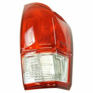 Tail Light Lamp Assembly Rh Rr Passenger Side For Toyota Tacoma Pickup Truck New