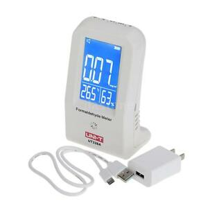 Uni t Formaldehyde Meter Detector Air Monitor Thermometer Hygrometer Lcd Display