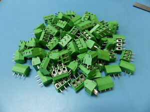 Altech Mbe 153 Qty Of 100 Per Lot Fixed Pcb Terminal Block Verticle Box Clamp