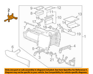 Gm Oem Center Console Assembly Front Bracket 22776807
