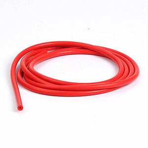 10 Feet Red Silicone Vacuum Air Hose 6mm 1 4 Inch Silicon Line Pipe Tube