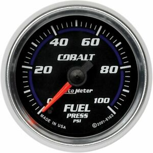 Autometer Fuel Pressure Gauge Gas New 6163