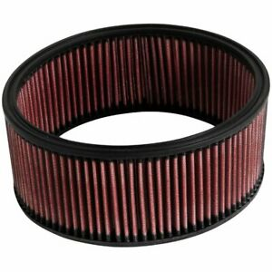 K n Washable Lifetime Performance Air Filter Round 10 Od 3 5 H E 3551