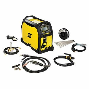 Esab Rebel Emp 235ic Mig stick tig Welder And Free Helmet Bundle 0558012702